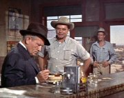 Ernest Borgnine, Spencer Tracey & Robert Ryan in 'Bad Day at Black Rock'
