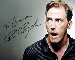 Rob Brydon signed photograph