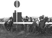 Wllie Carson winning his first race on Pinker's Pond at Catterick in 1962