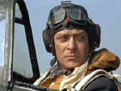 Michael Caine as Squadron Leader Canfield in 'Battle of Britain' (1969)