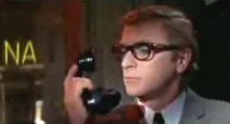 Michael Caine as Harry Palmer in 'The Billion Dollar Brain' (1967)