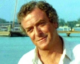 Michael Caine as Hoagie Newcombe in 'Jaws: The Revenge (1987)