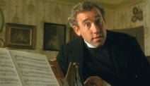 Simon Callow as Rev. Arthur Beebe in 'A Room with a View'