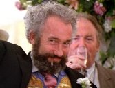 Simon Callow as Gareth in 'Four Weddings and a Funeral'
