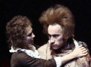 Simon Callow & Felicity Kendal in the stage version of 'Amadeus'