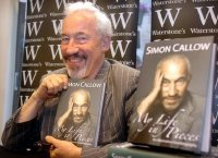 Simon Callow promoting his autobiography 'My Life in Pieces'