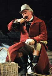 Simon Callow as Pozzo in 'Waiting for Godot'