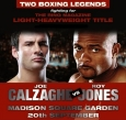 Publicity for the Calzaghe v. Jones fight in 2008