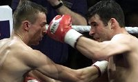 Joe Calzaghe fights Mario Veit in 2001