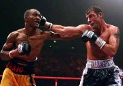 Joe Calzaghe fights Sakio Biko in 2006