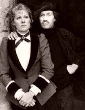 David Carradine as the painter Paul Gauguin with Lynn Redgrave in Gauguin the Savage