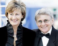 Willie Carson with his second wife Elaine