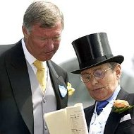 Willie Carson discusses racing with Sir Alex Ferguson at Royal Ascot
