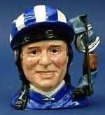 The 'Willie Carson' character jug