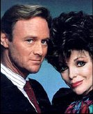 Christopher Cazenove & Joan Collins in 'Dynasty'