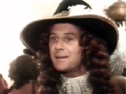 Christopher Cazenove as Rudolph Vyne in 'The Lady and the Highwayman'