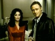 Kate O'Mara & Christopher Cazenove in 'Dynasty'