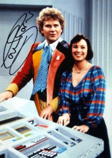 Colin Baker signed photograph