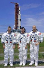 The Apollo 10 crew - Gene Cernan, John Young & Tom Stafford