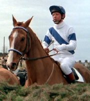 John Hurt on 'Aldaniti double' Flitgrove in the film 'Champions'