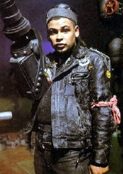 Craig Charles as Dave Lister in 'Red Dwarf'