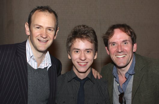 Alexander Armstrong & Ben Miller with Ciaran Brown