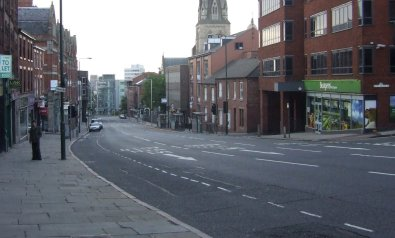 Derby Road, Nottingham in 2008