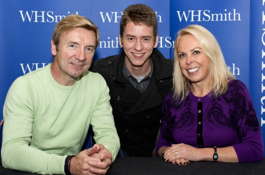 Jayne Torvill & Christopher Dean with Ciaran Brown
