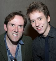Ben Miller with Ciaran Brown