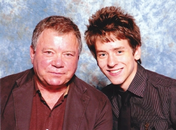 William Shatner with Ciaran Brown