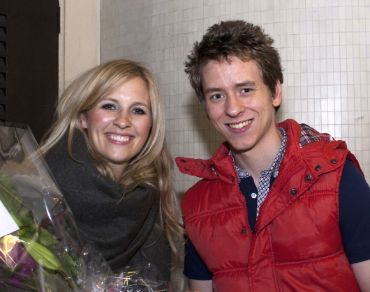 Alison Balsom with Ciaran Brown