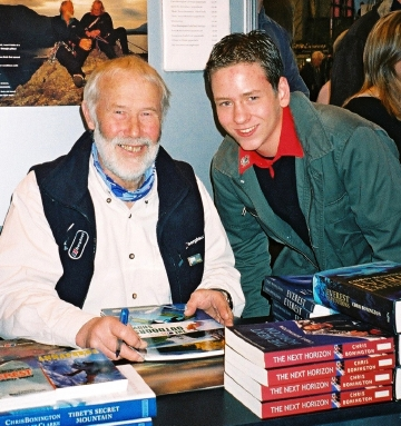 Chris Bonington with Ciaran Brown