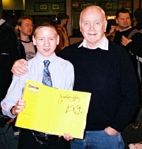 Ciaran Brown with Kenneth Cope