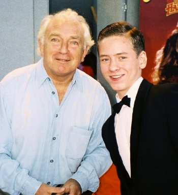 Ciaran Brown with Paul Freeman