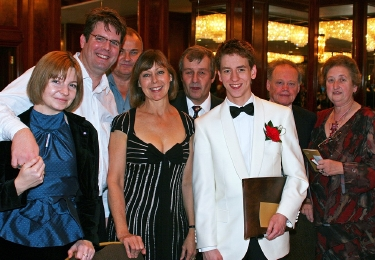 Jenny Agutter and Ciaran Brown at the Radisson Hotel, Heathrow in October 2007