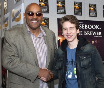 Ken Foree with Ciaran Brown
