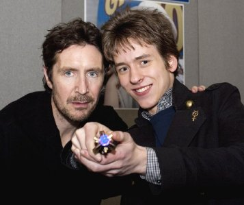 Paul McGann with Ciaran Brown