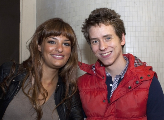 Nicola Benedetti with Ciaran Brown