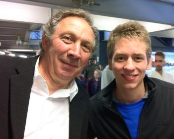 Richard Hope with Ciaran brown - ciaranrichardhopemkdonsjune2012350
