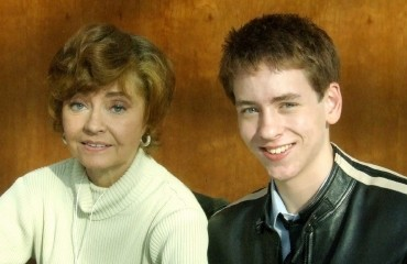 Prunella Scales with Ciaran Brown