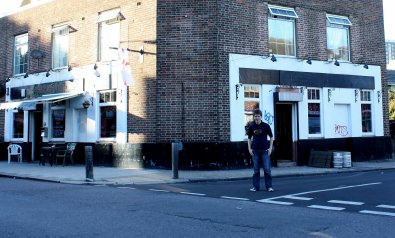 The British Flag pub, Battersea in 2010