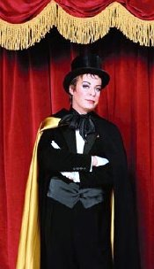 Julian Clary, the chairman of 'The All Star talent Show'