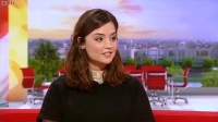 Jenna-Louise Coleman interviewed on 'BBC Breakfast' in December 2012