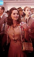 Jenna-Louise Coleman's film debut as Connie in 'Captain America: The First Avenger' (2011)