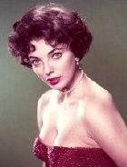 Joan Collins in the 1950s