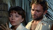 Joan Collins & Richard Burton in 'Sea Wife'