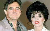 Joan Collins with 2nd husband Anthony Newley