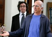 Steve Coogan & Larry David in 'Curb Your Enthusiasm'