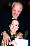 Sir Henry Cooper with his wife Albina.  They have been married for 48 years.