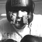Henry Cooper in training